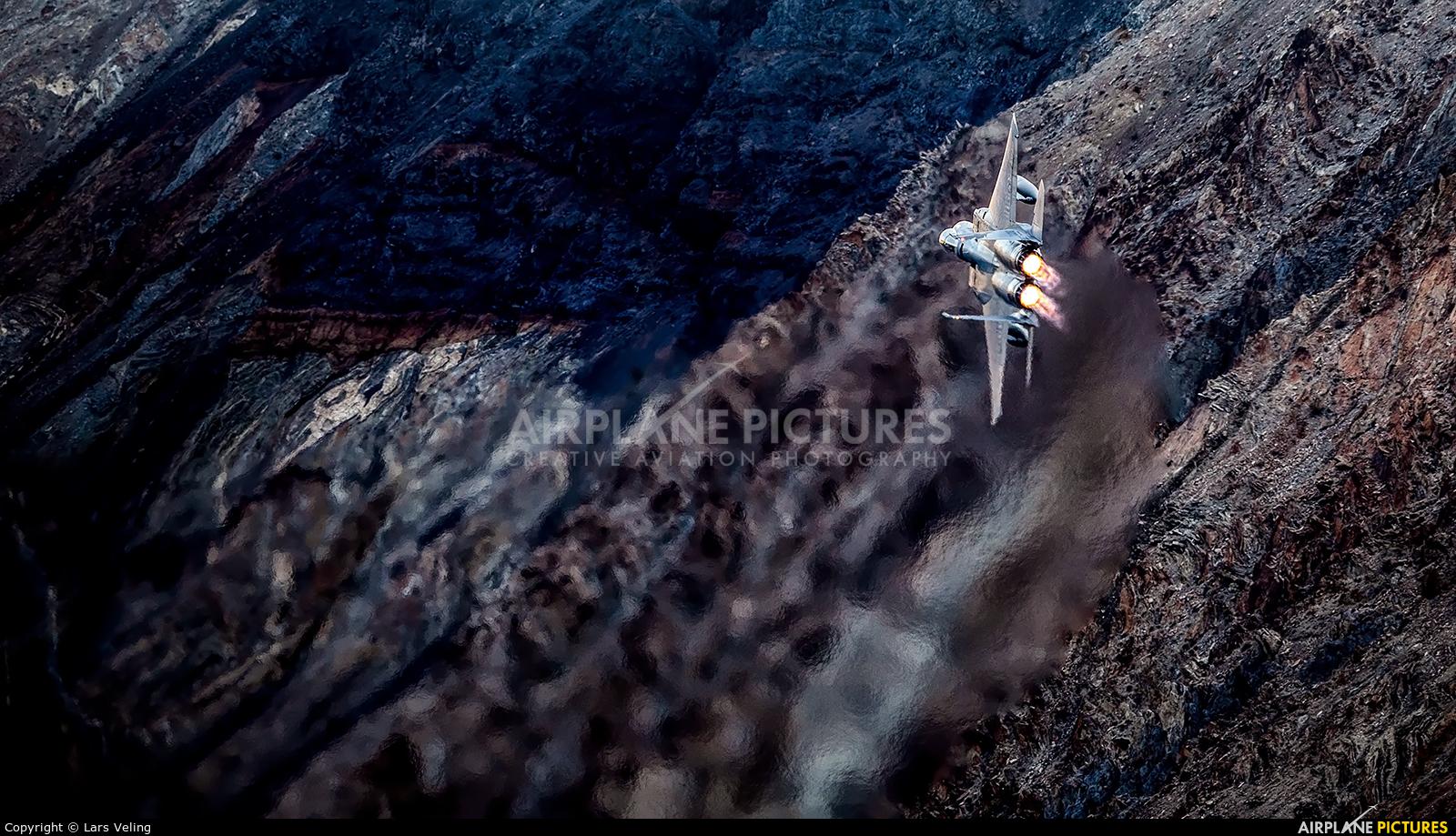 USA - Air National Guard 80-0010 aircraft at Rainbow Canyon - Off Airport
