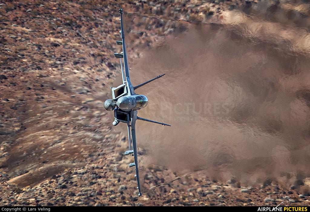USA - Navy XE-230 aircraft at Rainbow Canyon - Off Airport