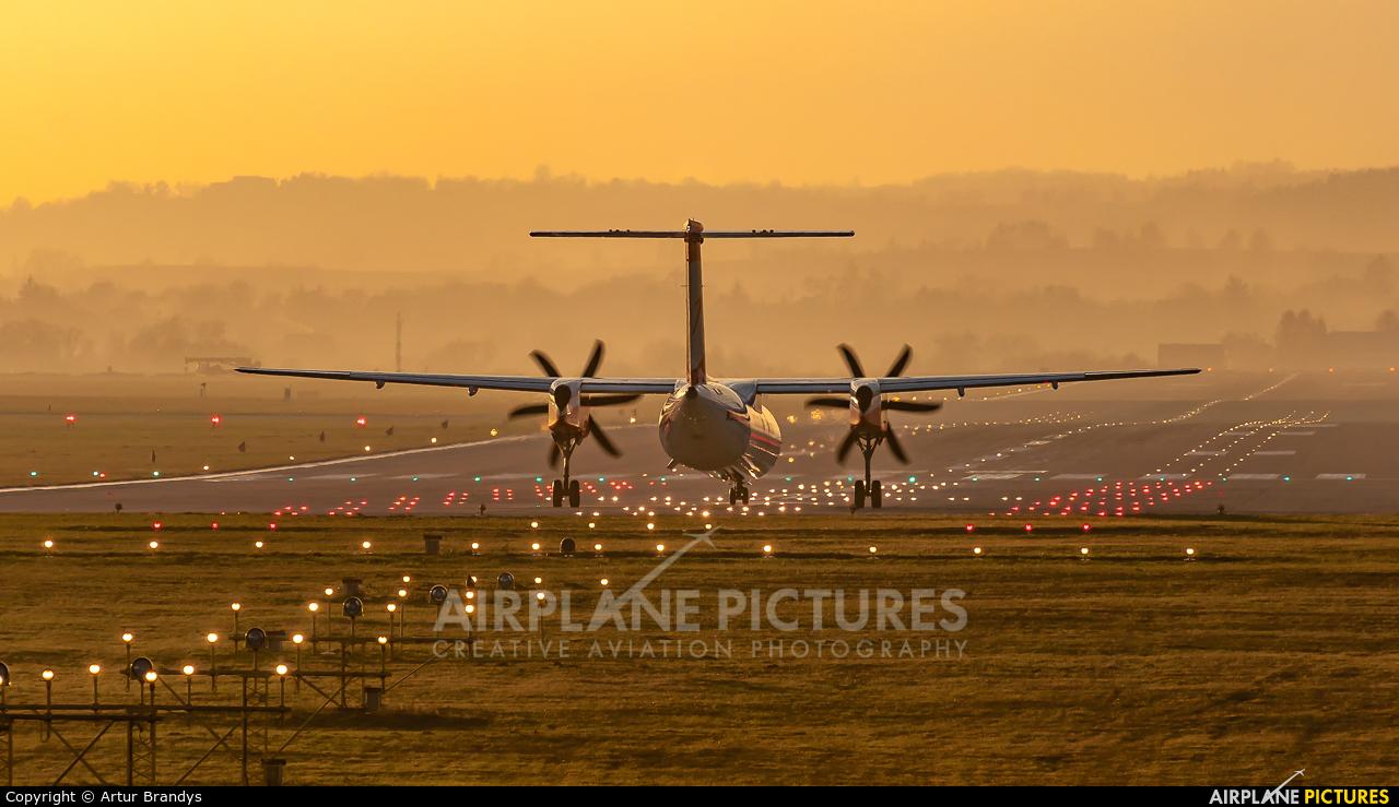 Austrian Airlines/Arrows/Tyrolean OE-LGC aircraft at Kraków - John Paul II Intl