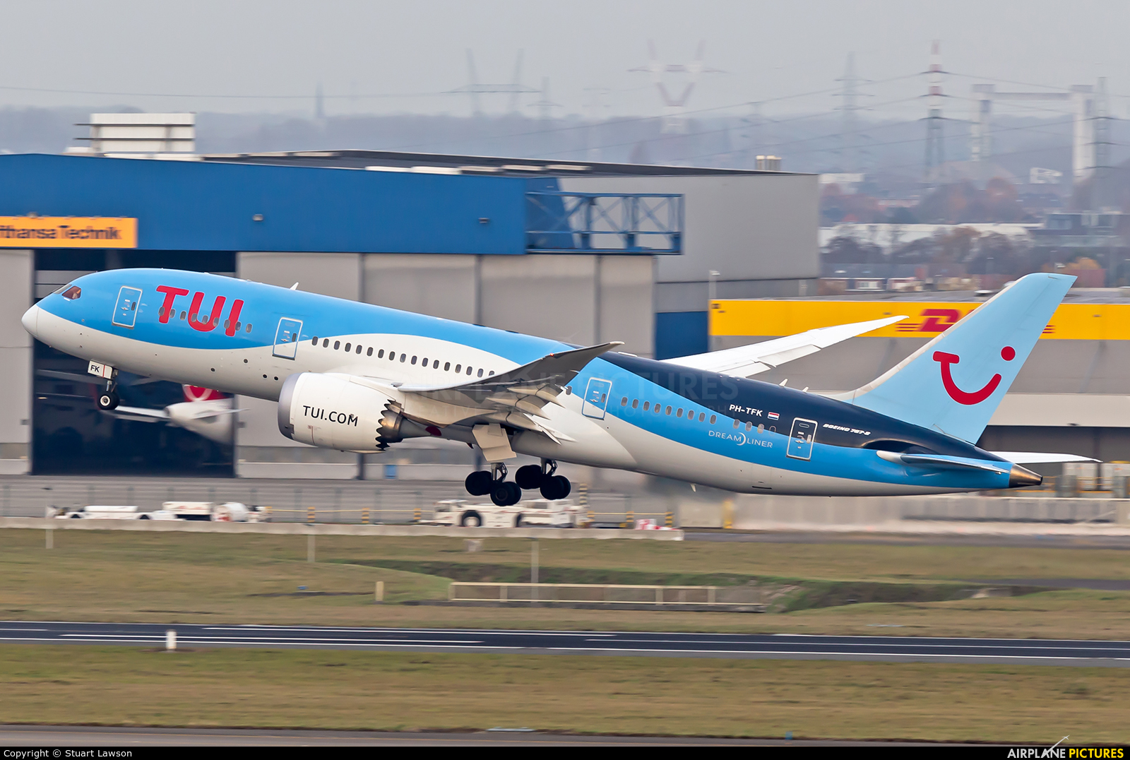 TUI Airlines Netherlands PH-TFK aircraft at Brussels - Zaventem