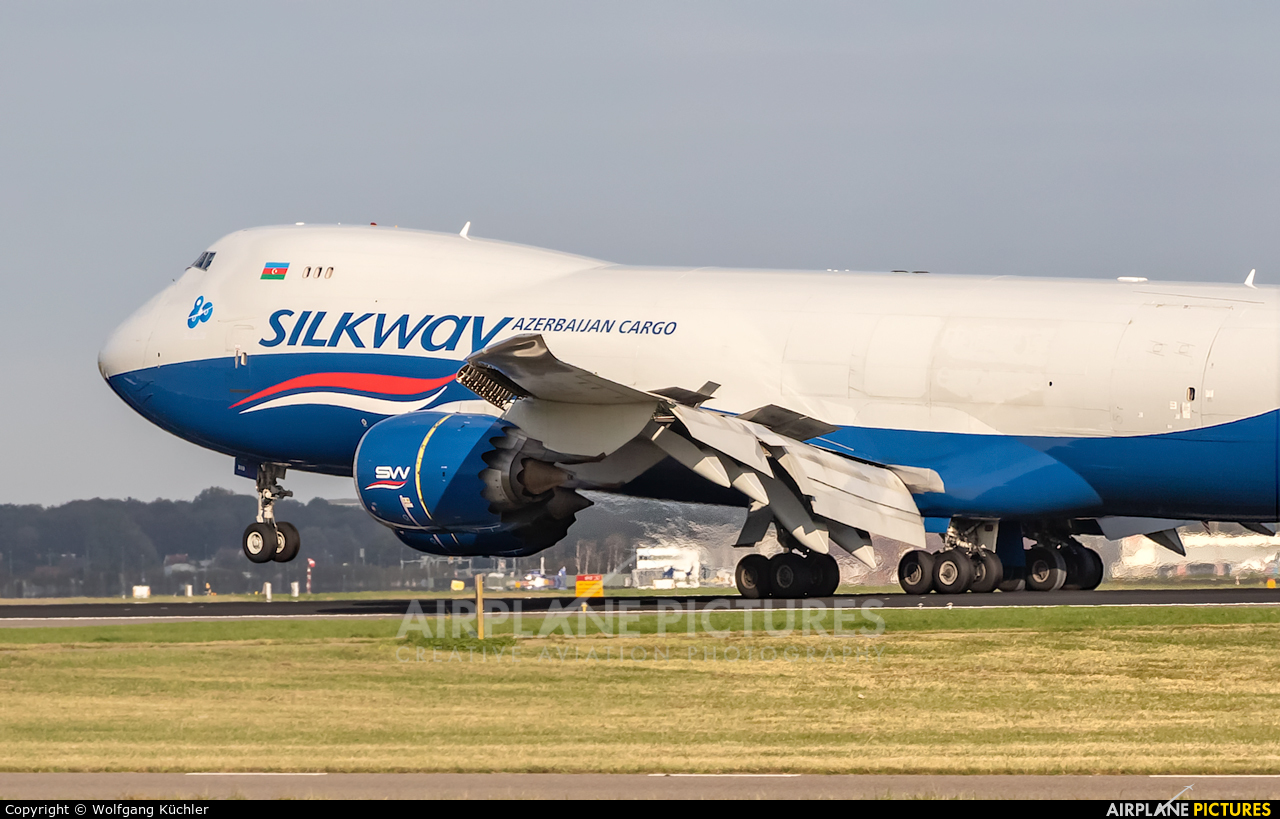 Silk Way Airlines VQ-BVB aircraft at Amsterdam - Schiphol