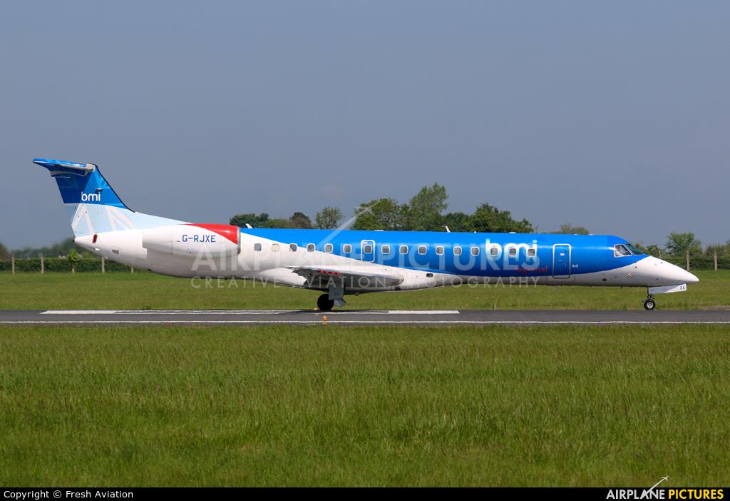 BMI Regional G-RJXE aircraft at Dublin