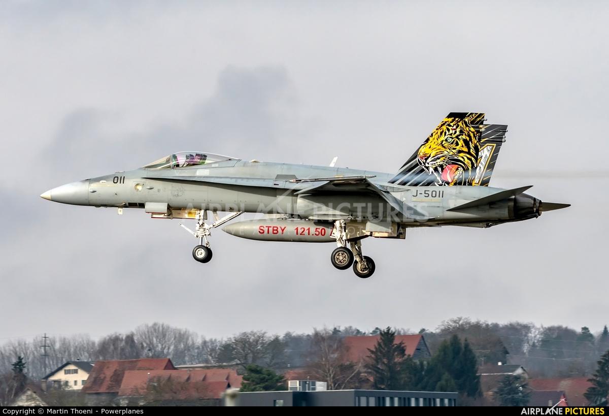 Switzerland - Air Force J-5011 aircraft at Payerne