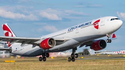OK-YBA - CSA - Czech Airlines Airbus A330-300