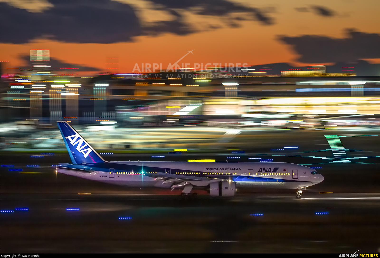 ANA - All Nippon Airways JA704A aircraft at Tokyo - Haneda Intl