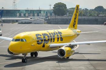 N502NK - Spirit Airlines Airbus A319