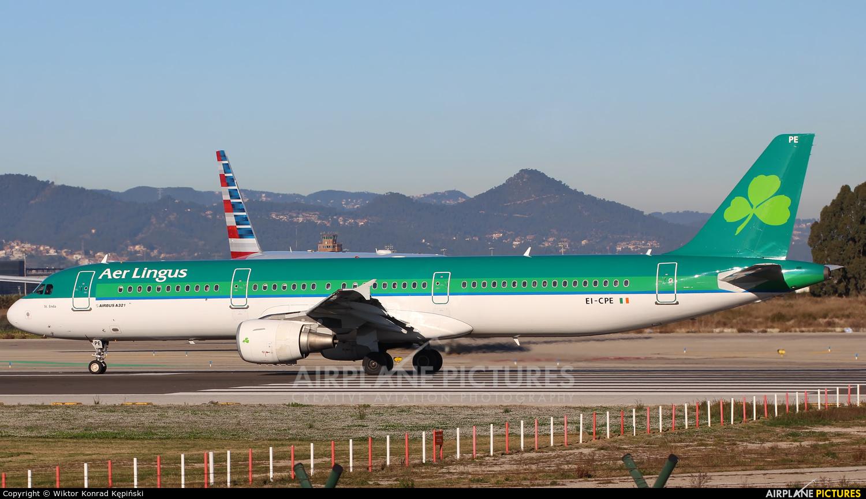 Aer Lingus EI-CPE aircraft at Barcelona - El Prat