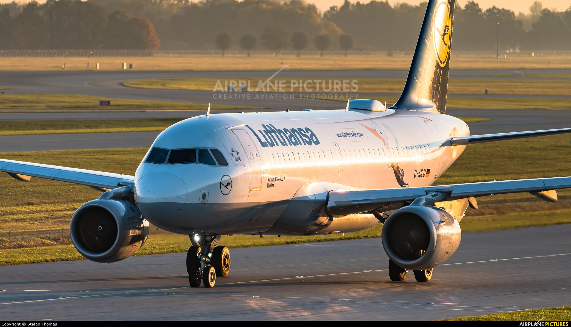 Lufthansa D-AILU aircraft at Munich