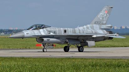 4052 - Poland - Air Force Lockheed Martin F-16C Jastrząb