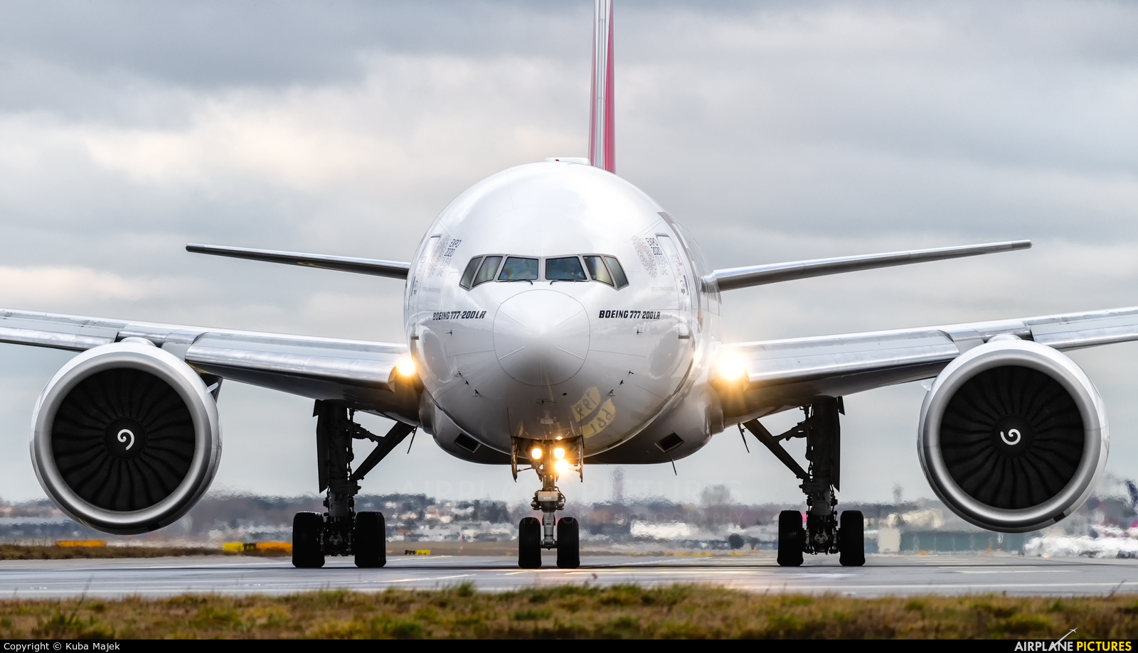 Emirates Airlines A6-EWH aircraft at Warsaw - Frederic Chopin