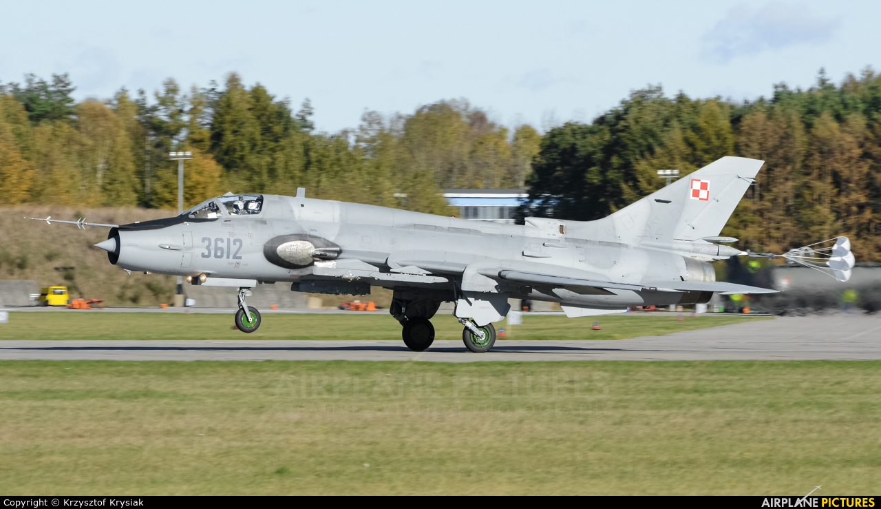 Poland - Air Force 3612 aircraft at Świdwin