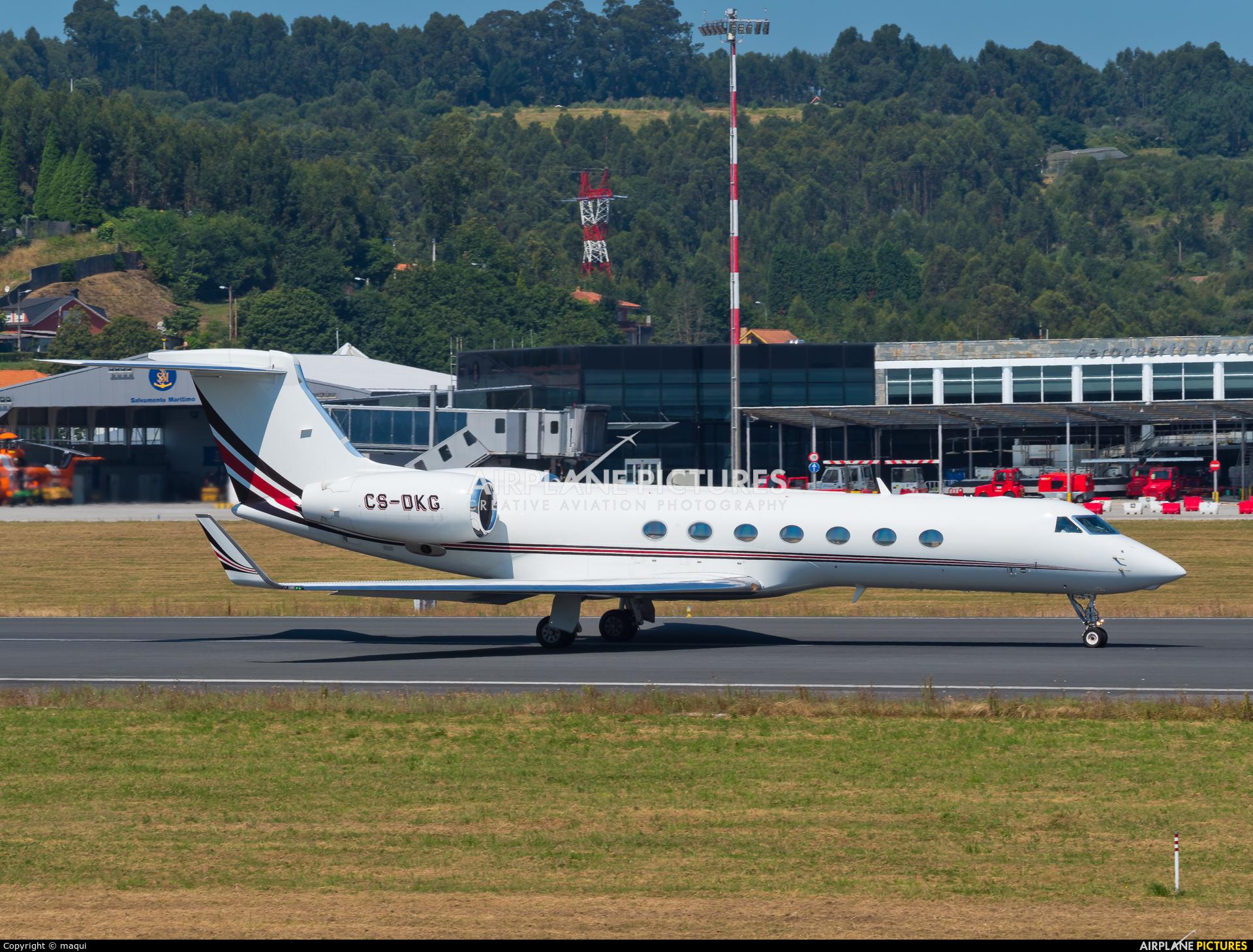 NetJets Europe (Portugal) CS-DKG aircraft at La Coruña