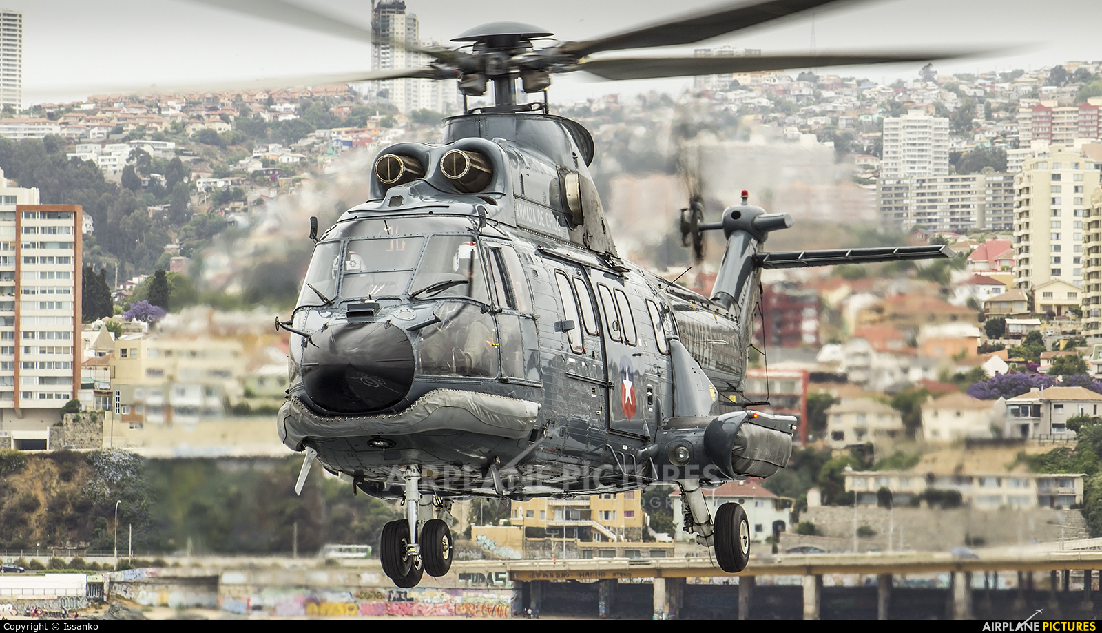 Chile - Navy 86 aircraft at Off Airport - Chile