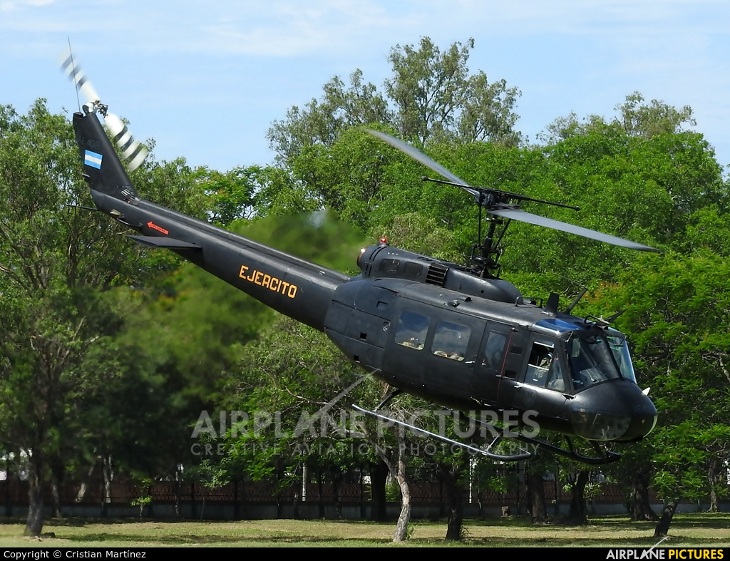 Argentina - Army AE-408 aircraft at Formosa Intl