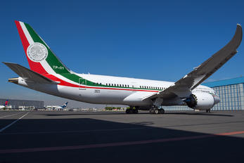 3523 - Mexico - Air Force Boeing 787-8 Dreamliner