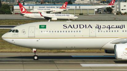 HZ-AQ17 - Saudi Arabian Airlines Airbus A330-300