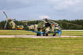 41 - Belarus - Air Force Mil Mi-24V