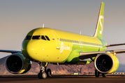 VQ-BCR - S7 Airlines Airbus A320 NEO aircraft