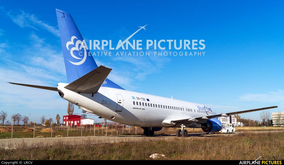 Bluebird Airways SX-TZE aircraft at Craiova