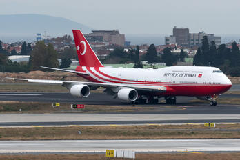 TC-TRK - Turkey - Government Boeing 747-8