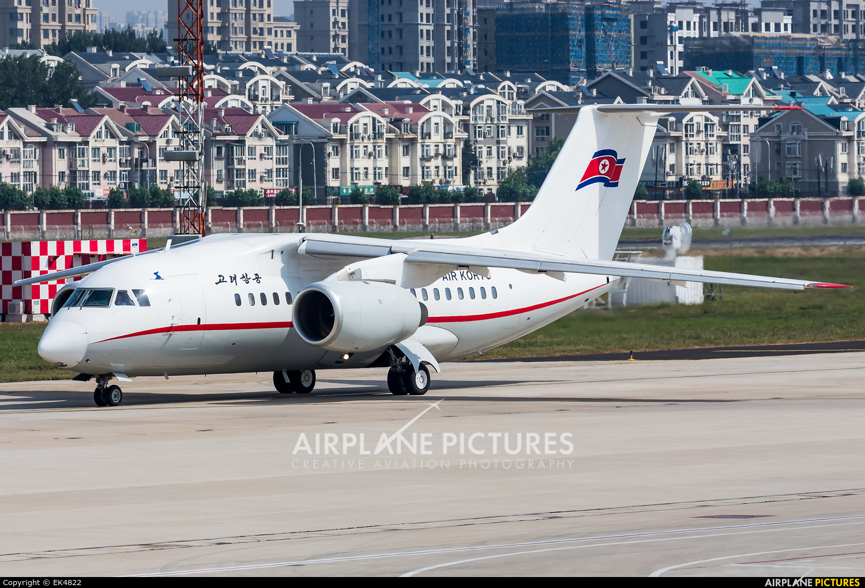 Air Koryo P-671 aircraft at Dalian Zhoushuizi Int'l
