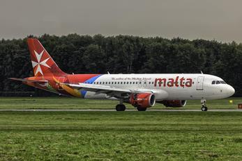 9H-AHS - Air Malta Airbus A320