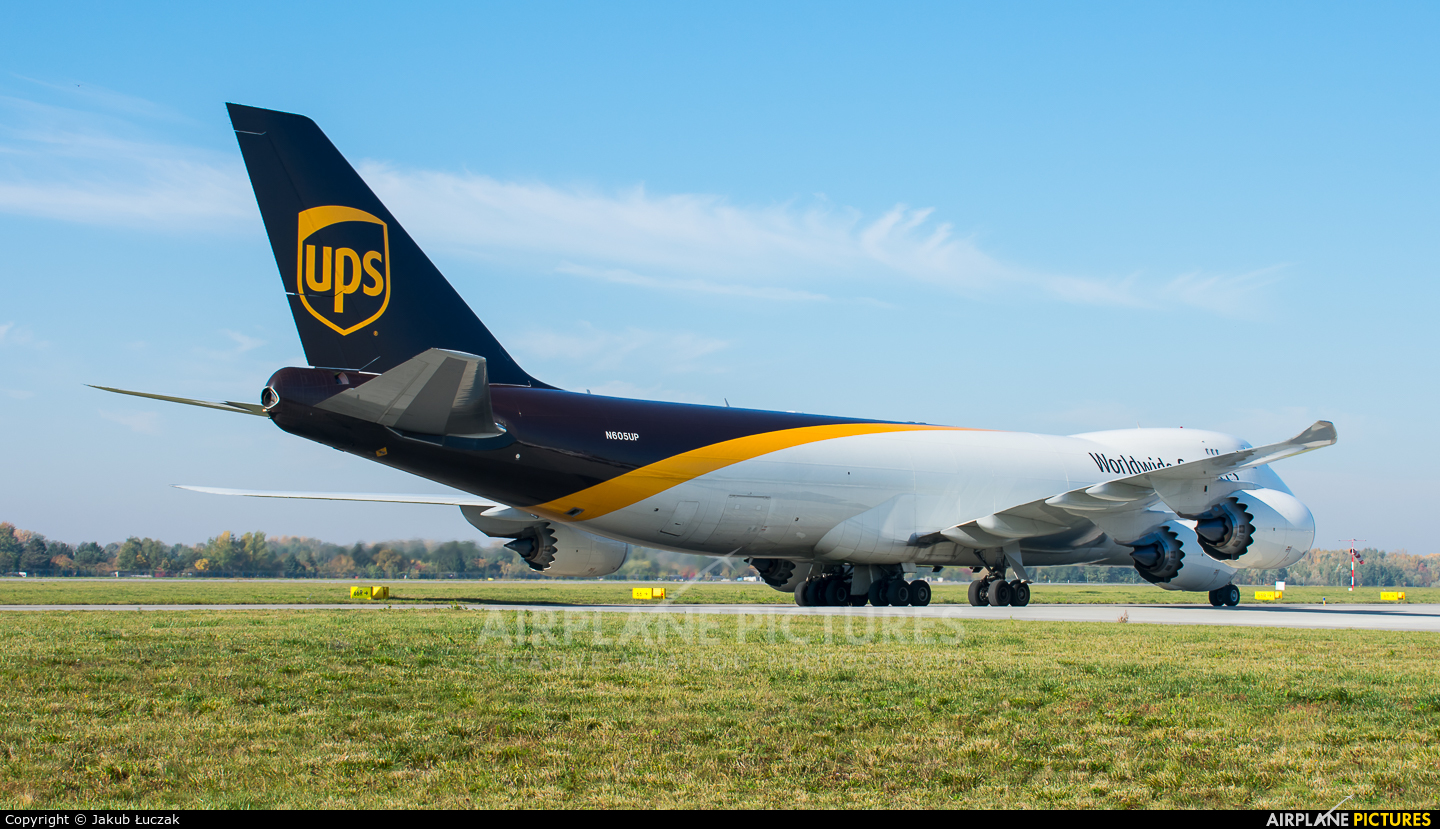 UPS - United Parcel Service N605UP aircraft at Warsaw - Frederic Chopin