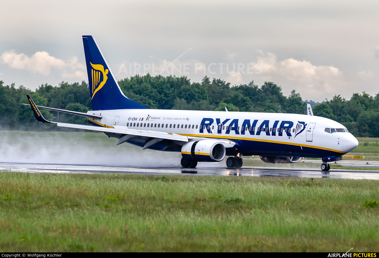 Ryanair EI-ENV aircraft at Cologne Bonn - Konrad Adenauer