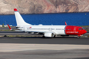LN-NGD - Norwegian Air Shuttle Boeing 737-800