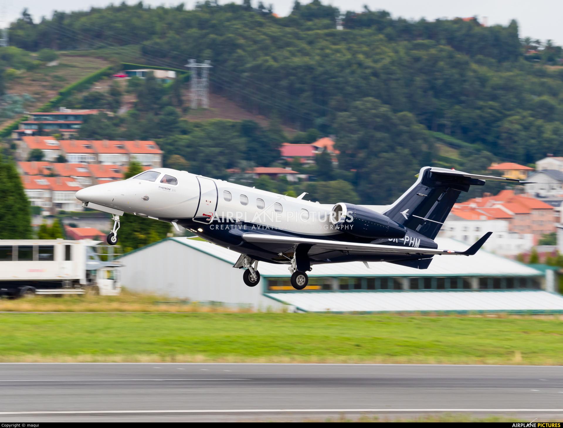 Private OK-PHM aircraft at La Coruña
