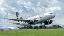 N503VL - Volaris Costa Rica Airbus A319 aircraft