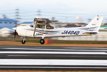 JA404D - Osaka Aviation Cessna 172 Skyhawk (all models except RG)