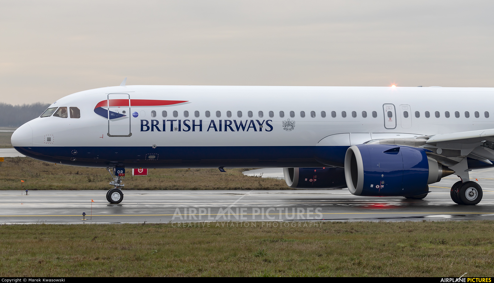 British Airways G-NEOR aircraft at Warsaw - Frederic Chopin