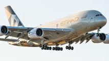 A6-API - Etihad Airways Airbus A380 aircraft