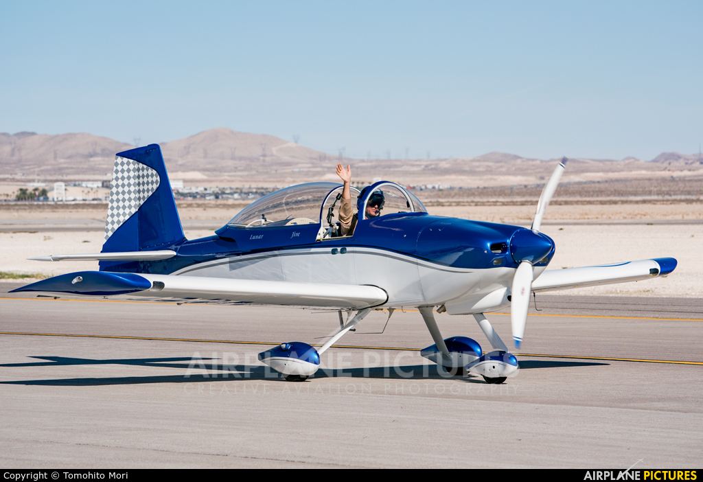 Private N717WB aircraft at Nellis AFB