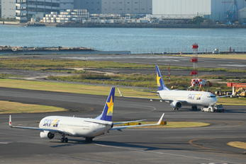 - - Skymark Airlines - Airport Overview - Runway, Taxiway