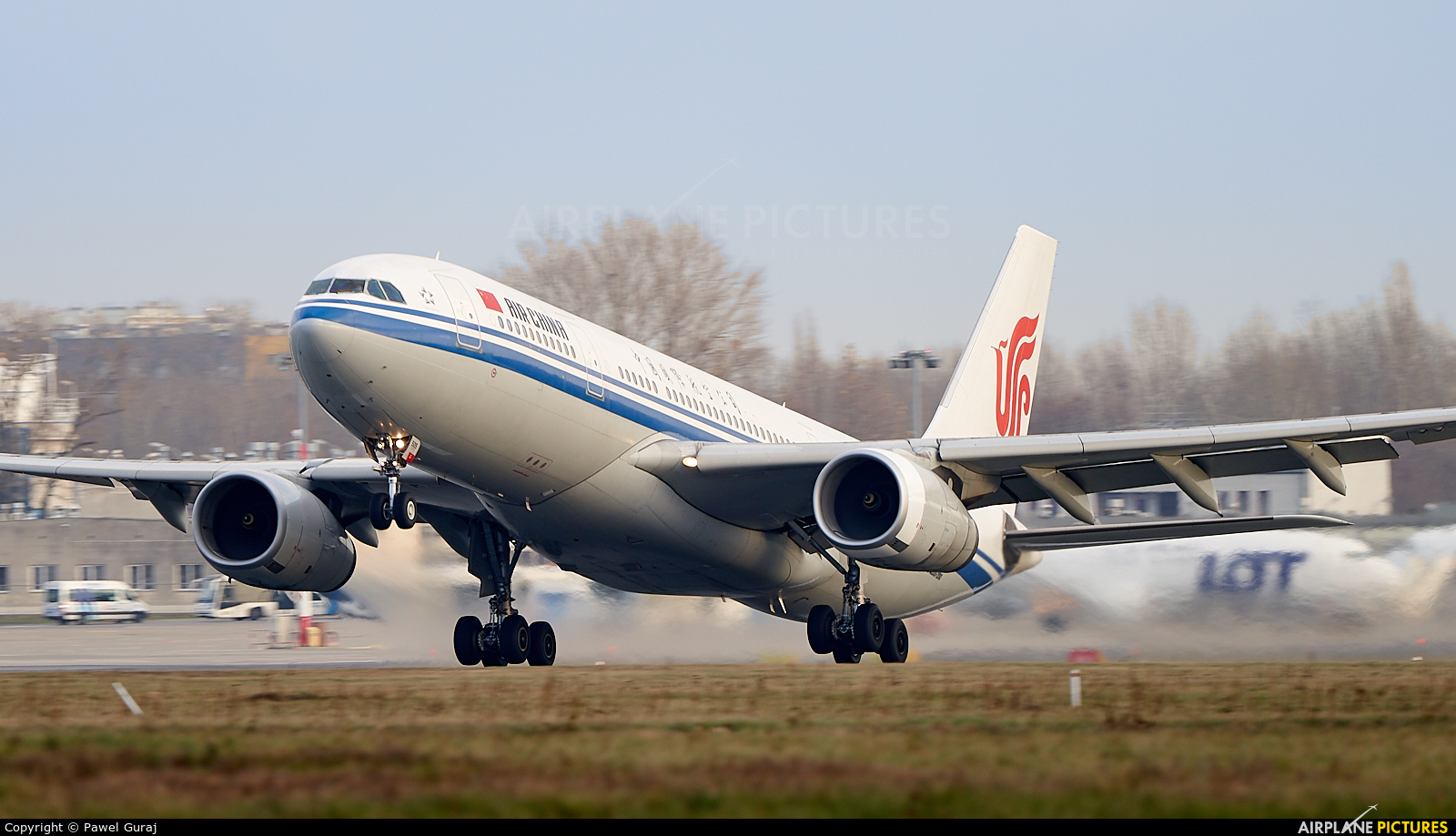 Air China B-6505 aircraft at Warsaw - Frederic Chopin