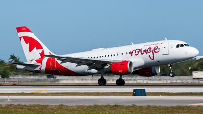 C-GARJ - Air Canada Rouge Airbus A319