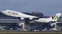 EC-KXN - Wamos Air Boeing 747-400 aircraft