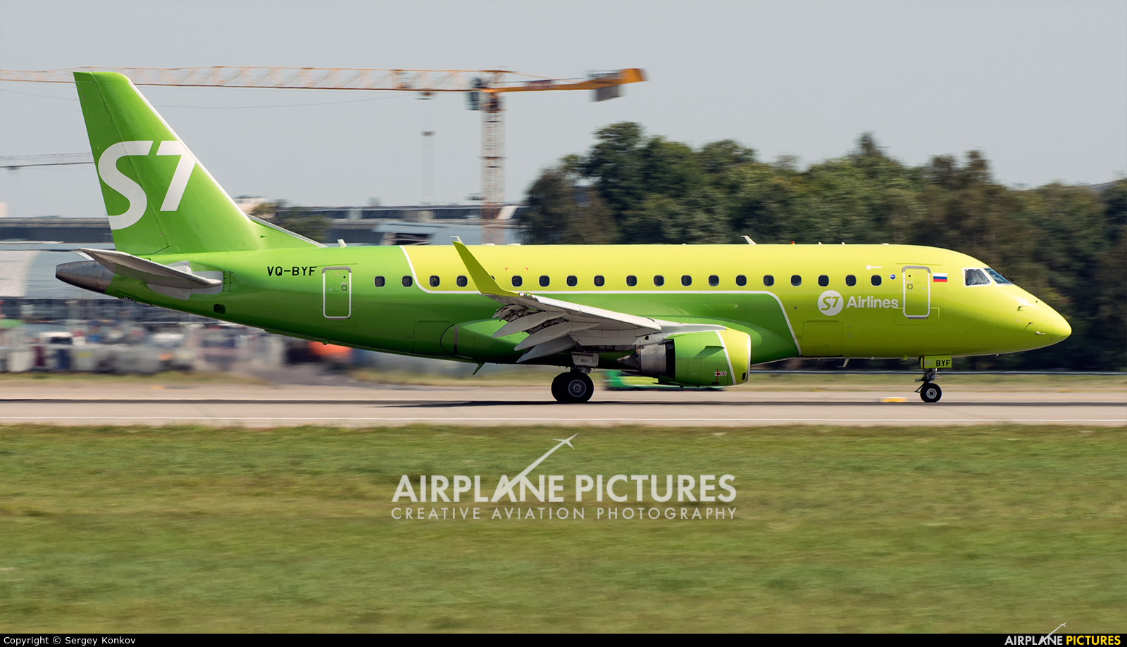S7 Airlines VQ-BYF aircraft at Moscow - Domodedovo