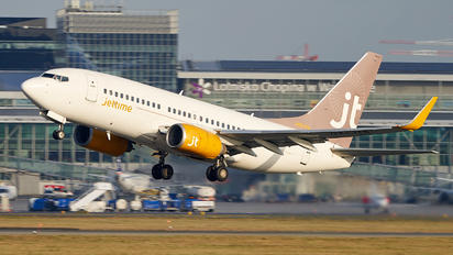 OY-JTS - Jet Time Boeing 737-700