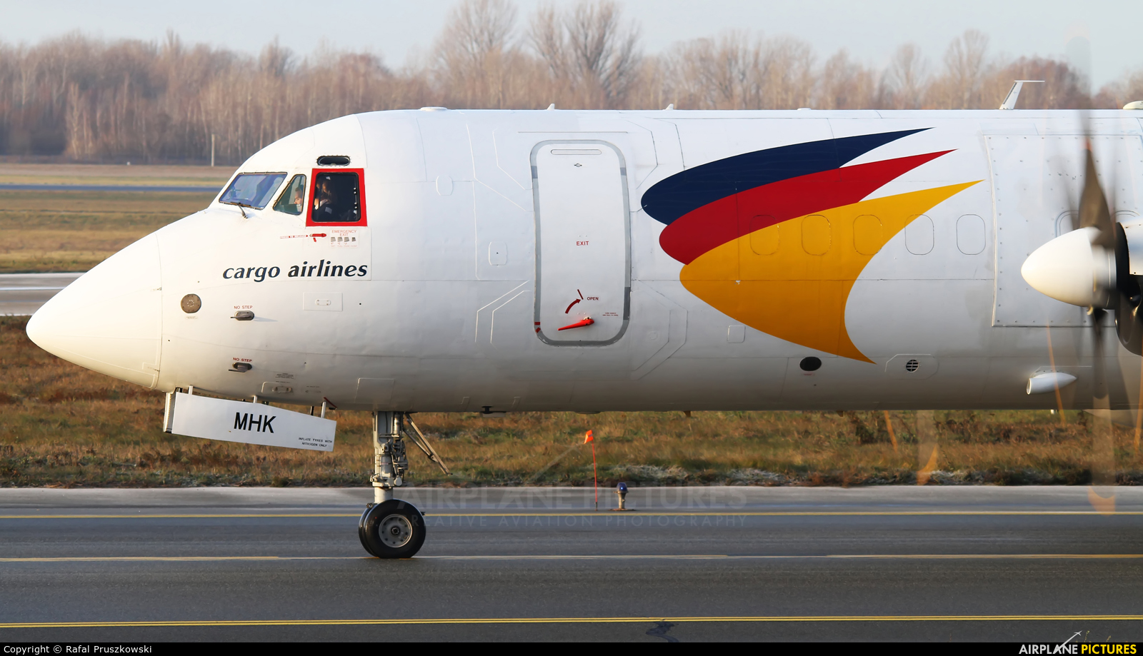 West Air Sweden SE-MHK aircraft at Warsaw - Frederic Chopin