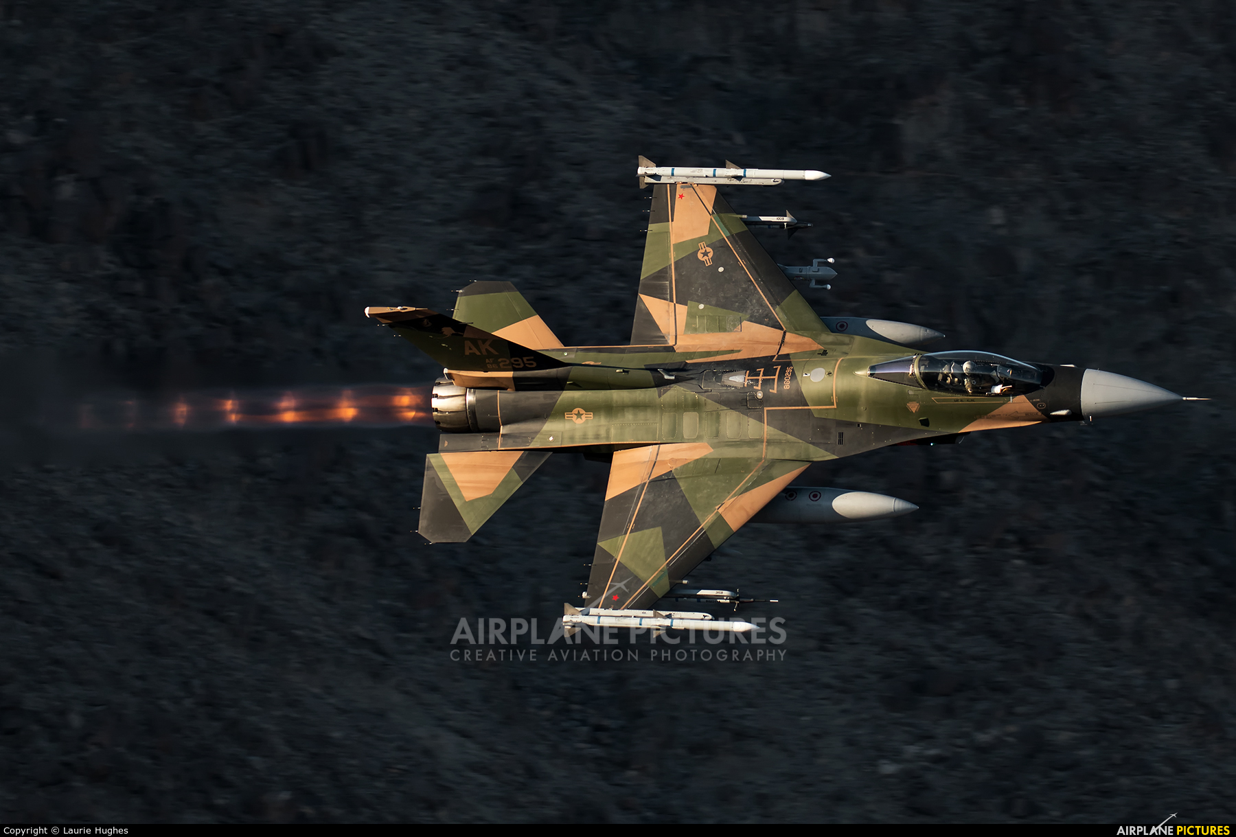 USA - Air Force 86-0295 aircraft at Rainbow Canyon - Off Airport