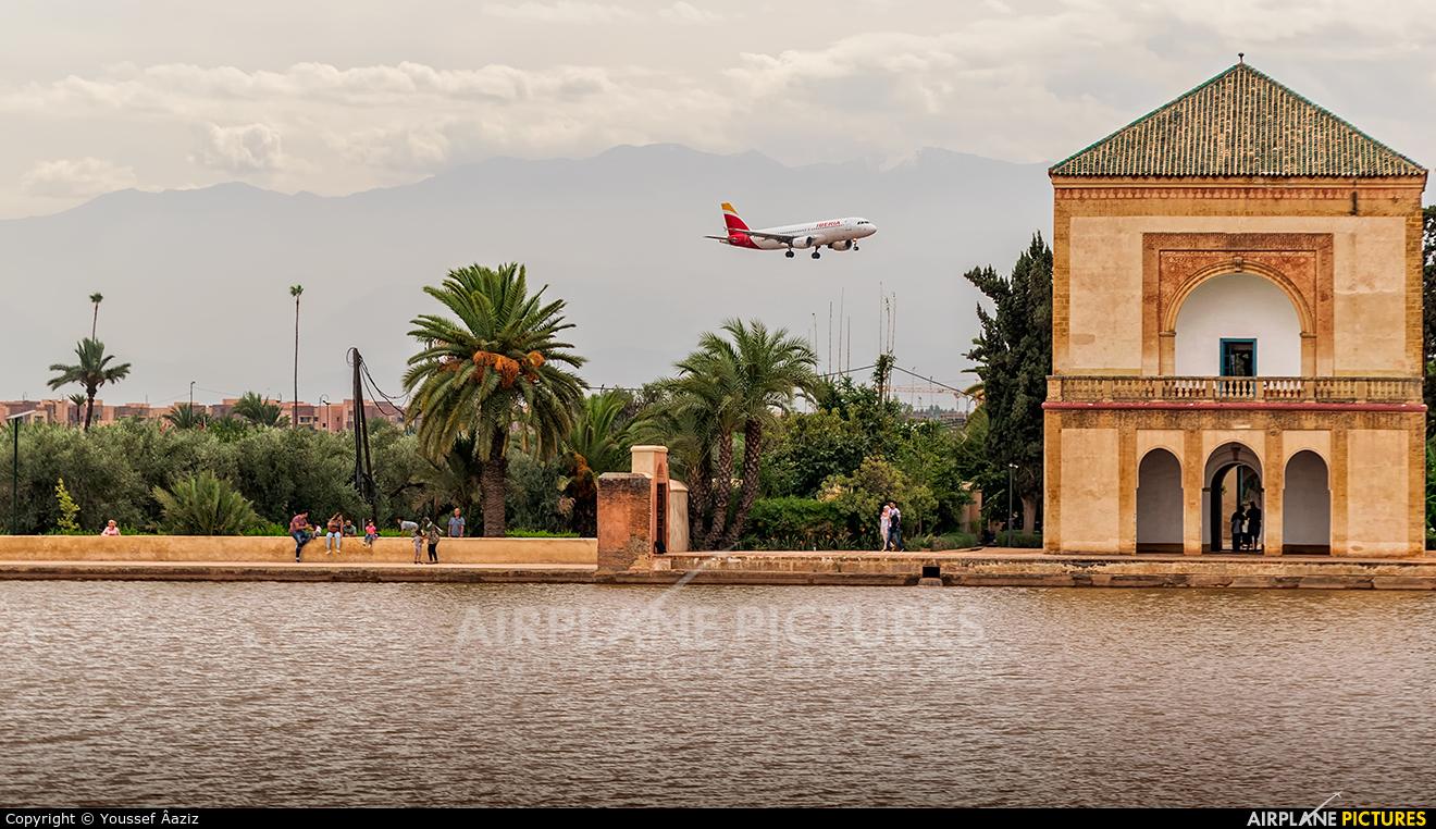 - Airport Overview EC-KOH aircraft at Marrakech - Menara