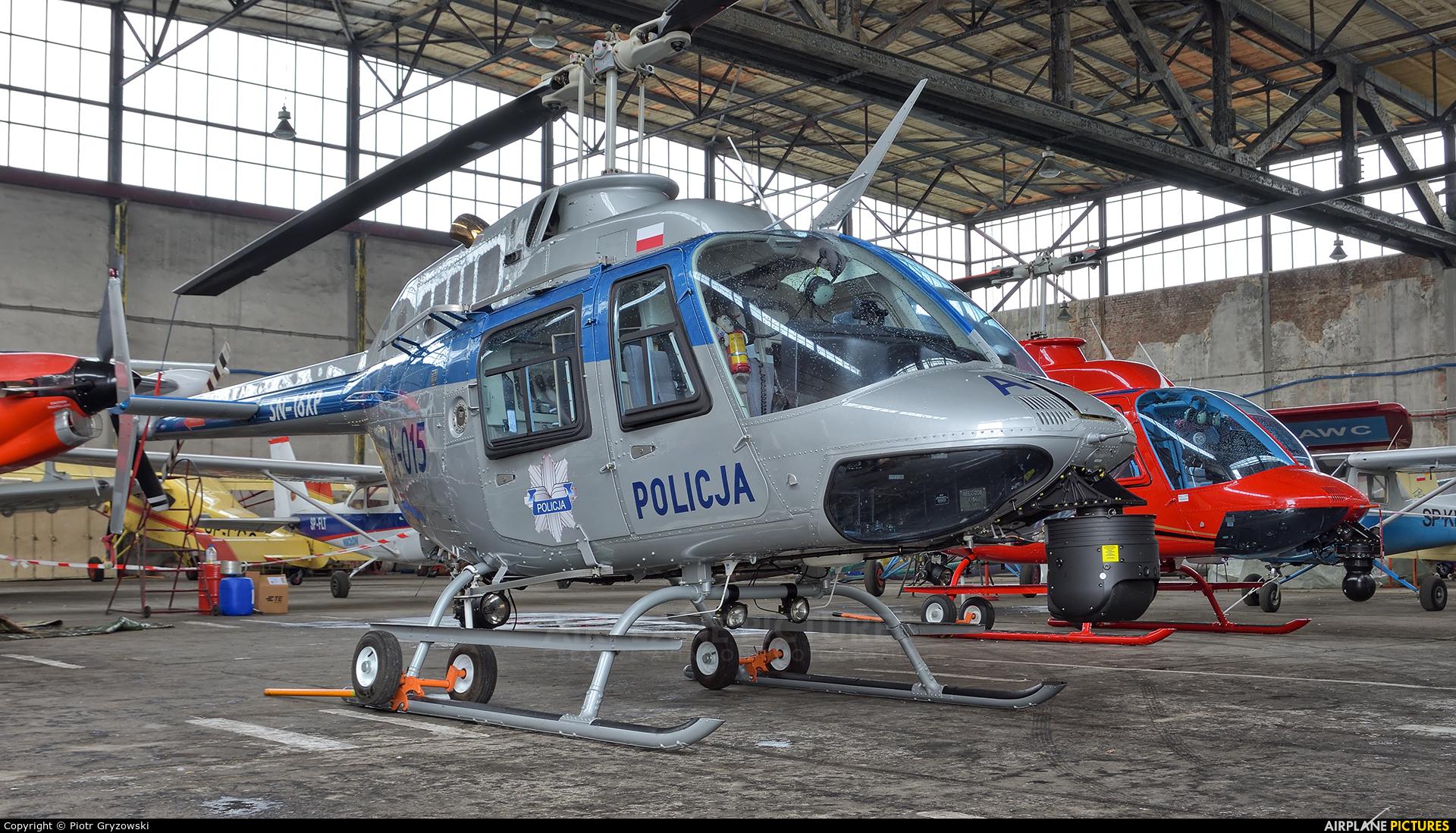 Poland - Police SN-16XP aircraft at Gliwice