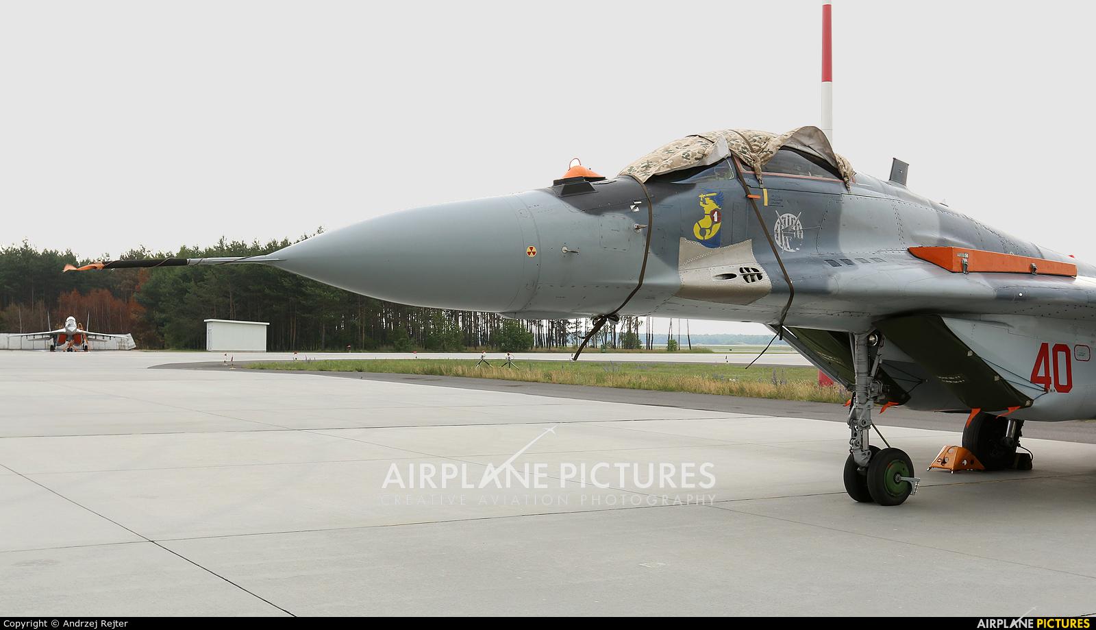 Poland - Air Force 40 aircraft at Powidz