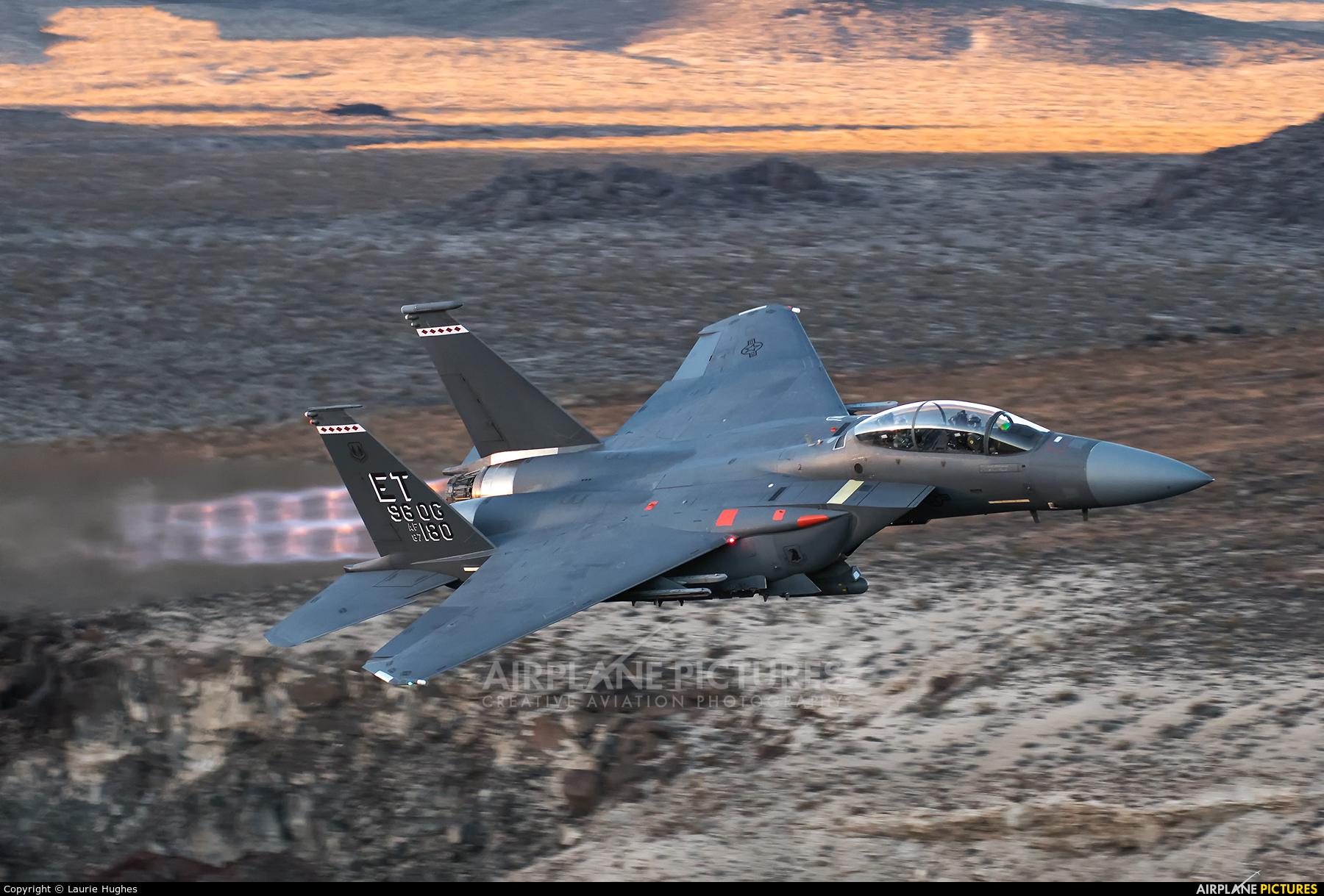 USA - Air Force 87-0180 aircraft at Rainbow Canyon - Off Airport