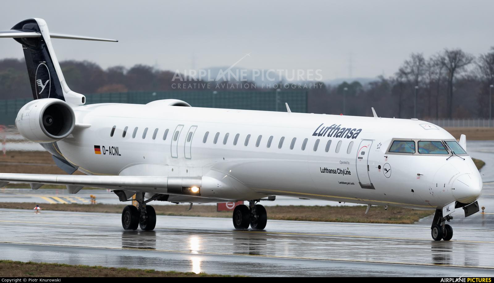 Lufthansa Regional - CityLine D-ACNL aircraft at Frankfurt