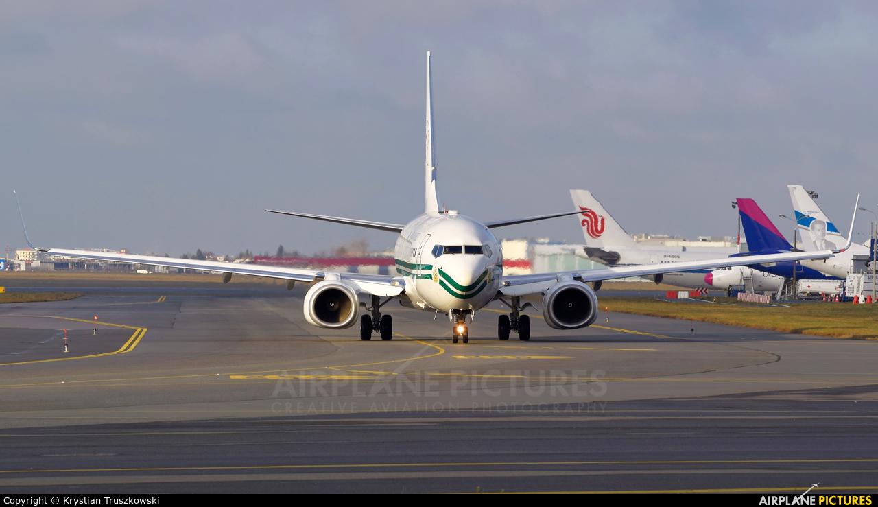 Nigeria - Air Force 5N-FGT aircraft at Warsaw - Frederic Chopin