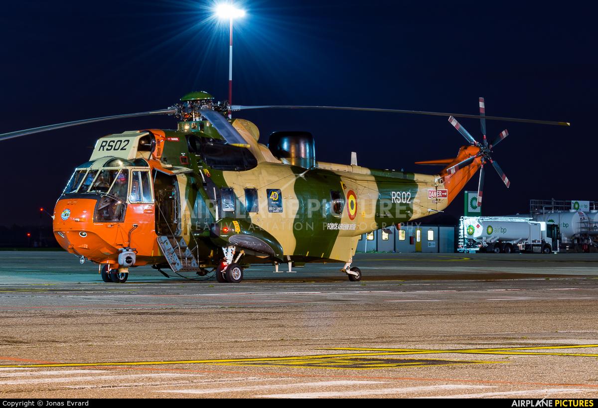 Belgium - Air Force RS-02 aircraft at Antwerp - Deurne